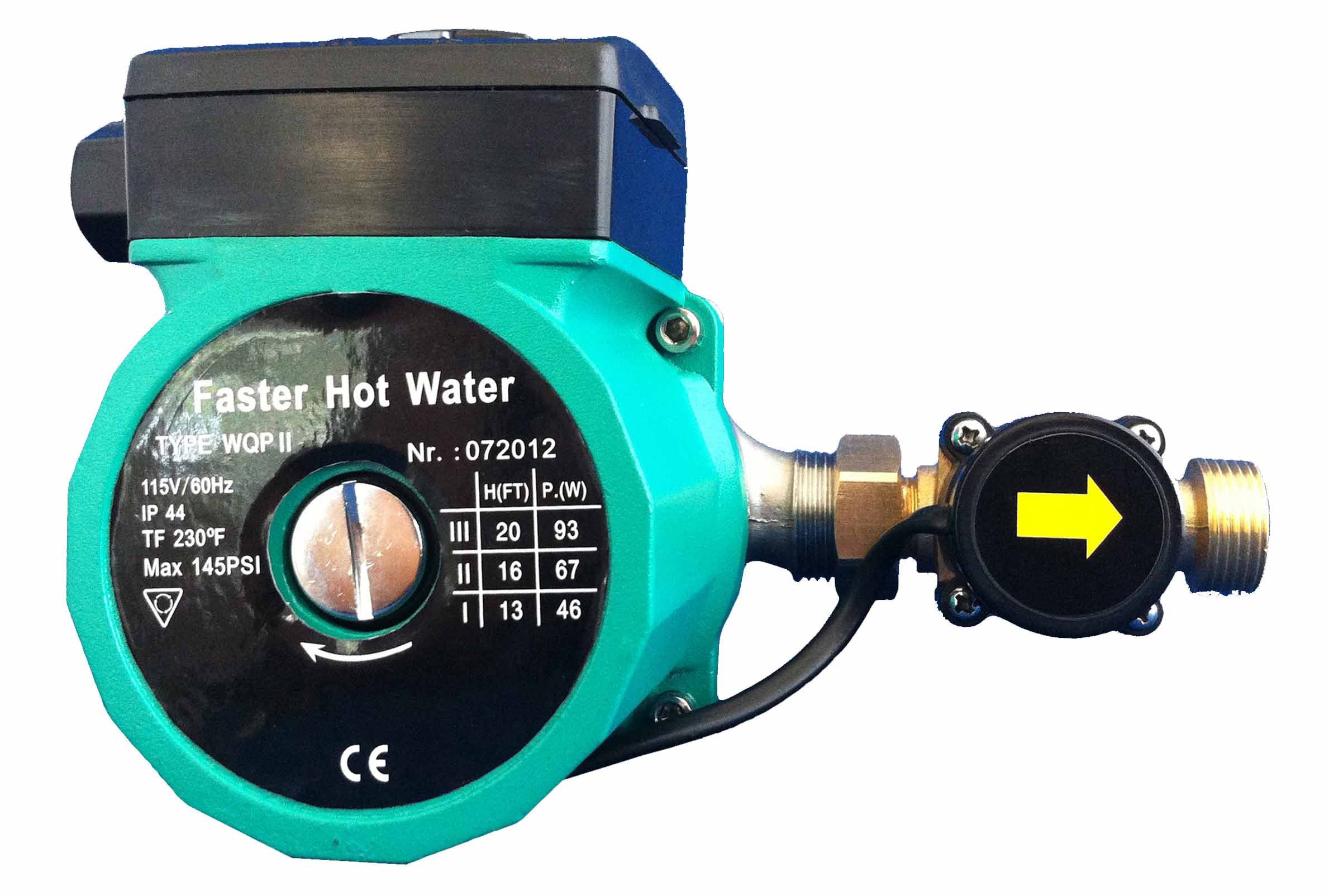 Wqp hot water recirculating pump installation instructions for Pros and cons of hot water recirculating pump